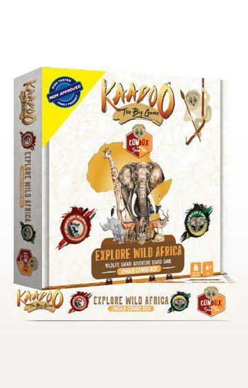 Beados | Kaadoo Wild Africa - 2 in 1 Jungle Safari Board Game Combo