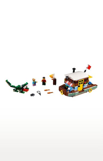 Beados | Lego Creator Riverside Houseboat Building Blocks