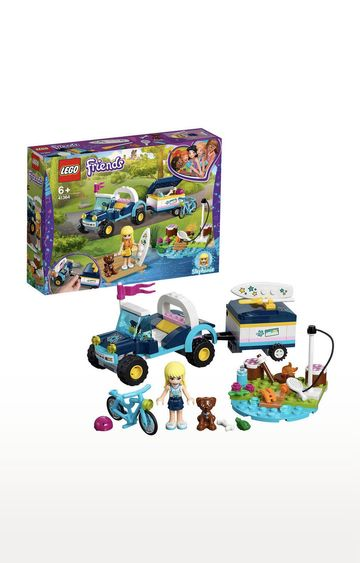 Beados | Lego Friends Stephanie's Buggy Trailer Building Blocks