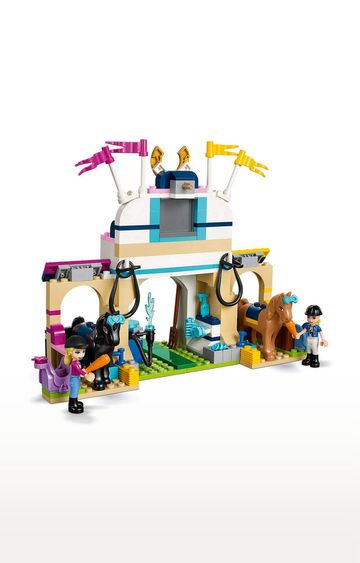 Beados | Lego Friends Stephanie's Horse Jumping Building Blocks