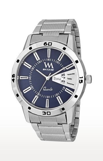 Watch Me | Watch Me Silver Analog Watch For Men