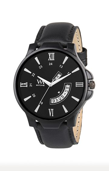 Watch Me | Watch Me Black Analog Watch For Men