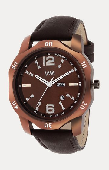 Watch Me | Watch Me Brown Analog Watch For Men