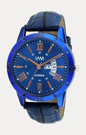 Watch Me   Watch Me Blue Leather Analog Watch For Men