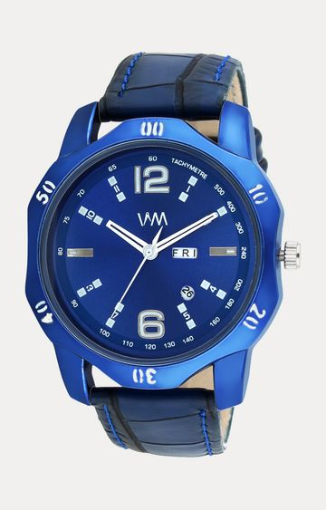 Watch Me | Watch Me Blue Leather Analog Watch For Men