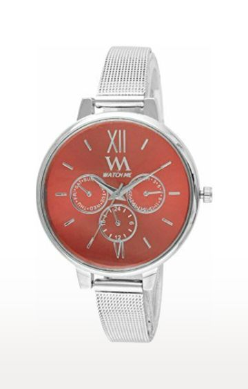 Watch Me | Watch Me Silver Analog Watch For Women