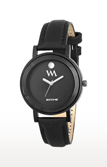 Watch Me | Watch Me Black Analog Watch For Women