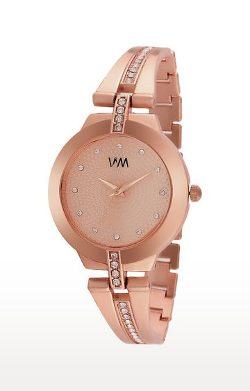 Watch Me | Watch Me Rose Gold Analog Watch For Women