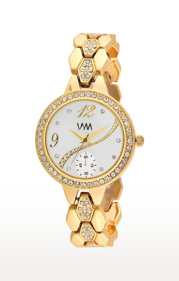 Watch Me | Watch Me Gold Analog Watch For Women