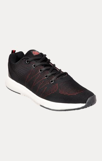 Allen Cooper   Black Sports Shoes