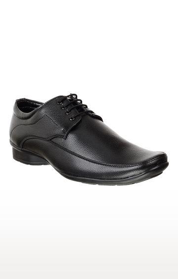 Vardhra | Black Derby Shoes