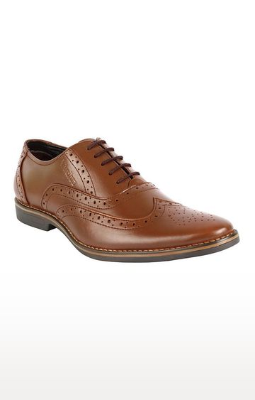 Vardhra | Tan Brogues