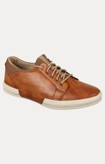 Vardhra | Tan Sneakers