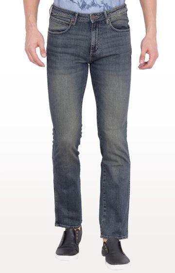 Wrangler | Blue Millard Mid Low Rise Narrow Leg Jeans