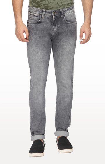 Wrangler   Grey Vegas Low Rise Skinny Fit Jeans