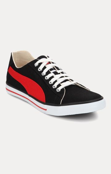 Puma | Black and Red Puma Sneakers