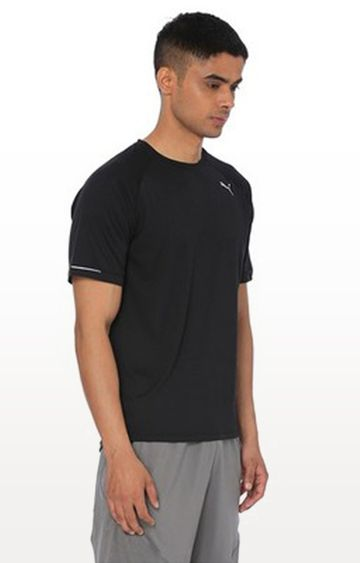 Puma | Black Solid Core-Run Tee