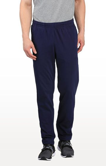 Puma | Navy Solid Trackpants