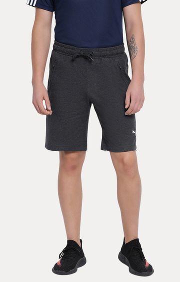 Puma | Grey Melange Shorts