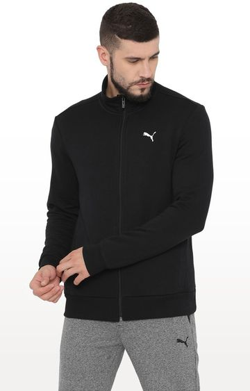 Puma | PUMA MEN ZIPPERED SWEAT JACKET LEISURE TOP