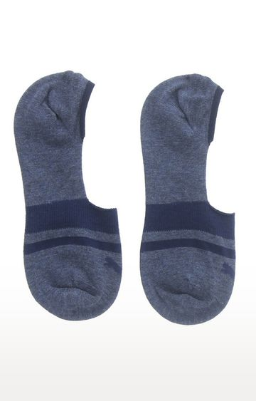 Puma | Blue Striped Socks - Pack of 2