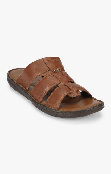 Attilio | Attilio Men Brown Sandals