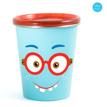 Mothercare | Rabitat Spill Free Stainless Steel Cup - Shyguy