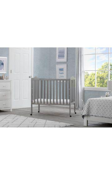 Mothercare | Delta Children Portable Folding Crib With Mattress