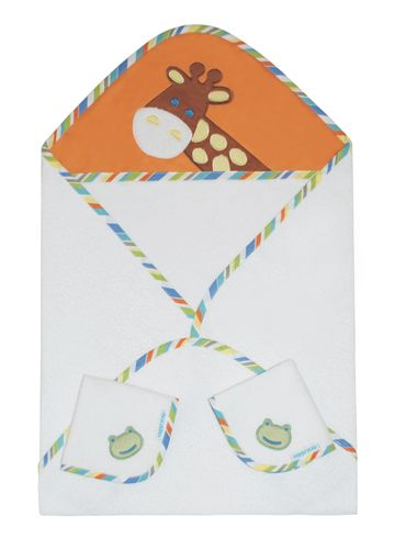 Mothercare | Abracadabra Hooded Towel Set - Head & Tail