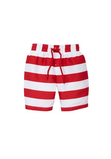 Mothercare | Boys Red And White Swimming Trunks