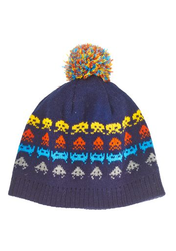 Mothercare | Boys Space Invaders Beanie Hat - Multicolor