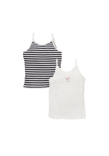 Mothercare | Girls Cami Vests - Pack Of 2 - Multicolor