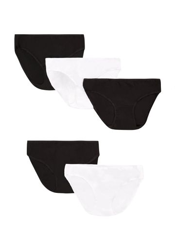 Mothercare | Black White Women Maternity Mini Briefs- Pack Of 5