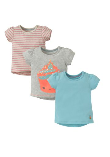 Mothercare | Multicolor Girls Printed T-Shirts - Pack Of 3