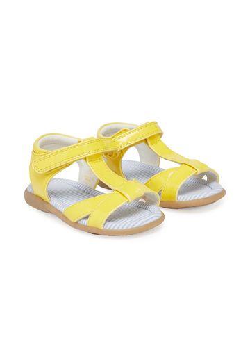 Mothercare | Girls Lemon T-Bar Sandals