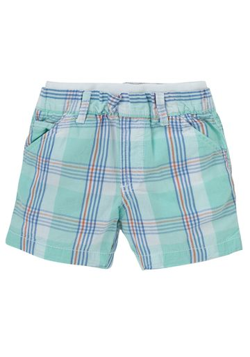 Mothercare | Blue Boys Check Chino Shorts