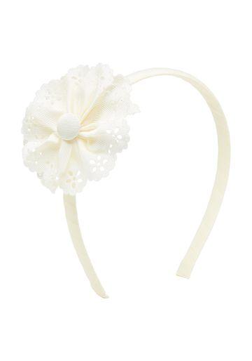 Mothercare | Girls Flower Headband - White