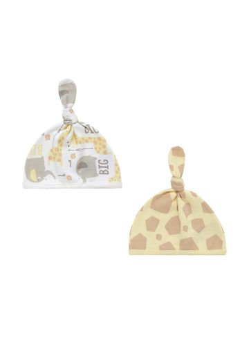 Mothercare | Unisex Giraffe Hats - Pack Of 2 - Multicolor