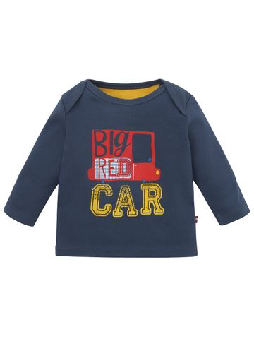 Mothercare | Boys Big Car T-Shirt - Navy