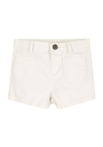 Mothercare | Girls Denim Shorts - White