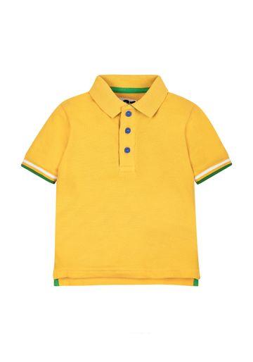 Mothercare | Boys Yellow Polo Shirt