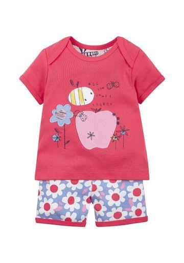 Mothercare | Red Girls Printed Shortie Pyjamas