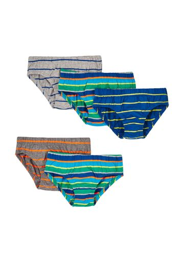 Mothercare | Boys Striped Briefs - Pack Of 5