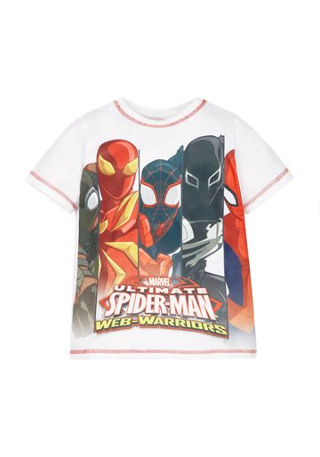 Mothercare | Boys Marvel Spiderman T-Shirt  - Multicolor