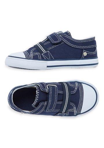 Mothercare | Boys Canvas Shoes - Blue