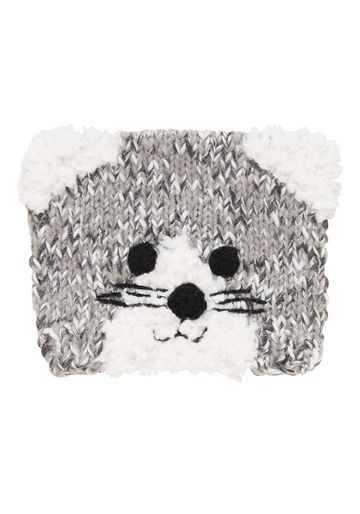 Mothercare | Girls Novelty Cat Beanie - Grey