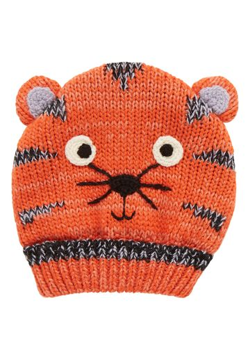 Mothercare | Boys Novelty Tiger Beanie With Ears - Multicolor