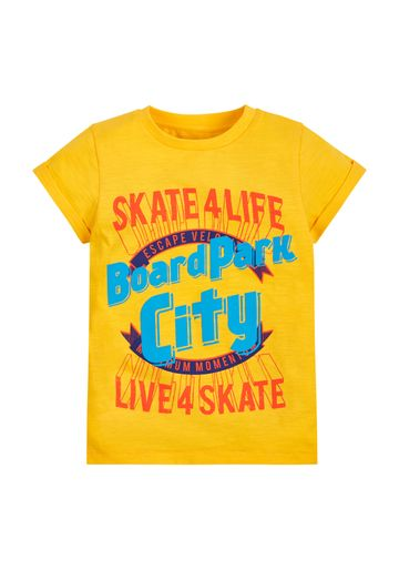 Mothercare | Boys Graphic T-Shirt - Yellow