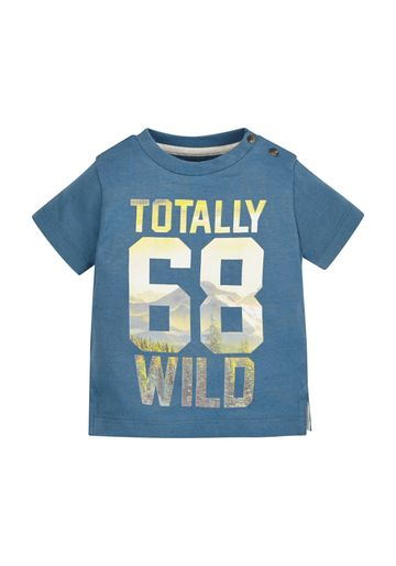 Mothercare   Boys Totally Wild T-Shirt - Blue