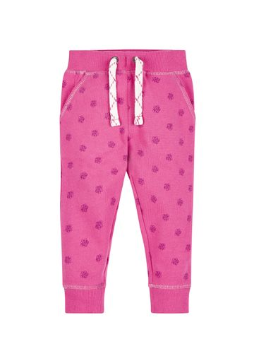 Mothercare | Girls Flower Printed Joggers - Pink